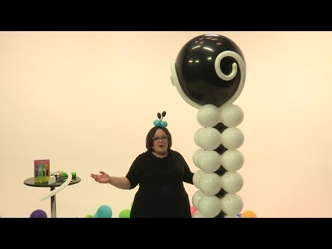 Fancy, Elegant Balloon Tower - Step by Step Tutorial