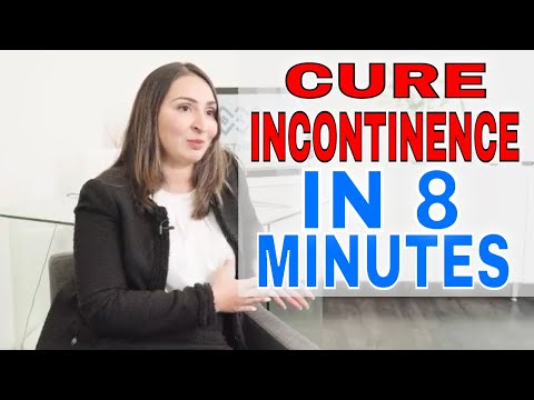 How I cured my incontinence in 8 minutes!