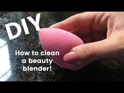 DIY | How to clean your Beauty Blender