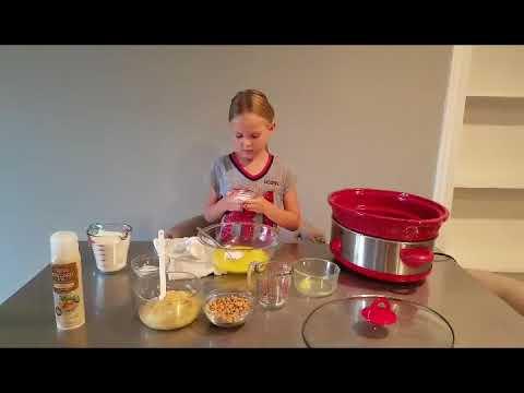 kids in the kitchen-Crockpot Banana Bread