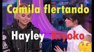 Camila FLERTANDO a Hayley kiyoko?   Analise da entrevista da Camila na Mtv