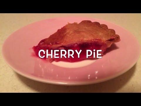 Cherry Pie in the halogen oven (frozen)