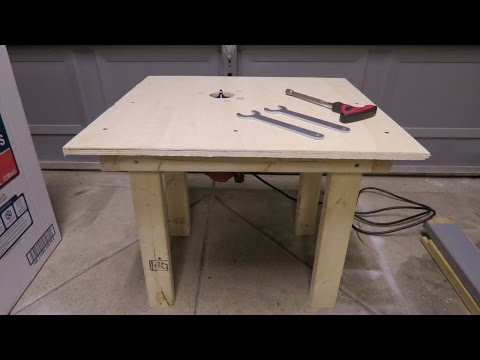 How to build Router table for less then $10
