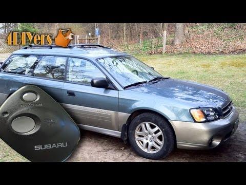 DIY: Subaru Keyless Entry Horn Enable/Disable