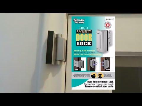 TG High Security Door Lock Installation