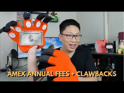 Amex Annual Fee Rules + Clawbacks