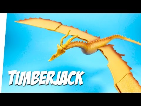 How to Train Your Dragon Timberjack Action Dragon Toy Review