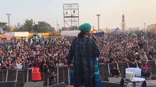 Mame Khan live @ NH7 Weekender Chaudhary