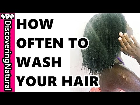 HOW OFTEN SHOULD I WASH MY NATURAL HAIR? | #NaturalHair