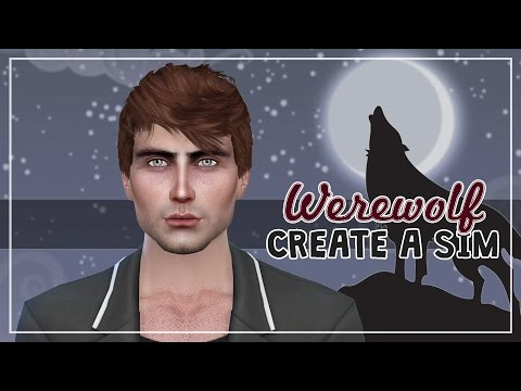 The Sims 4: Create a Sim | Werewolf (Halloween Theme)