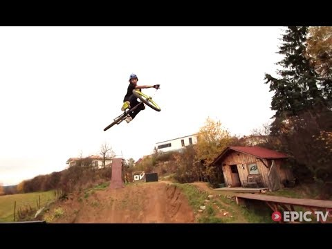 Turning a Backyard Into a MTB Playground | Life on the Bike with Dominic Amberger, Ep. 1