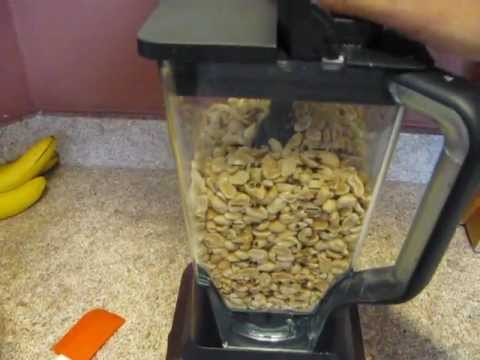 make your own Peanut Butter with the Ninja 1200 blender - so easy a 3-yr-old can do it  :)