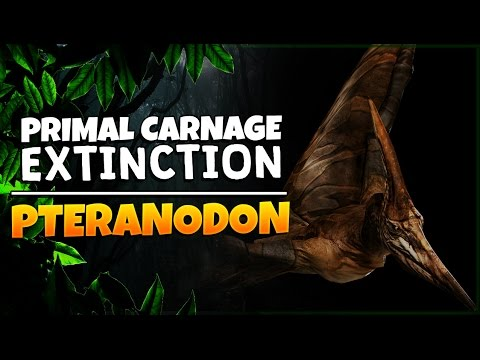 Primal Carnage: Extinction | Pteranodon Gameplay