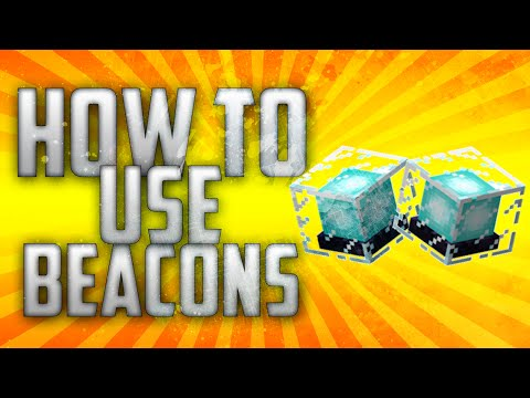 Minecraft Console : How to Use Beacons - TU19/22 Tutorail (Xbox 360, Xbox One, PS3 and PS4)