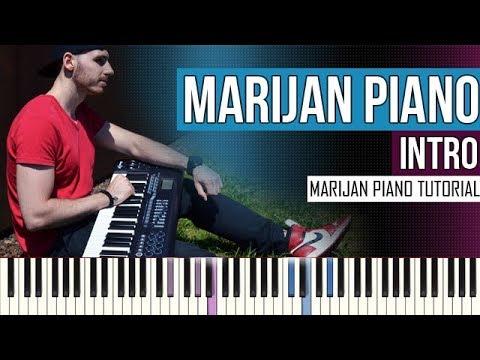 How To Play: Marijan Piano - Intro | Piano Tutorial