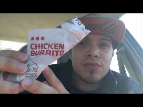 Taco Bell's New Shredded Chicken Burrito Food Review