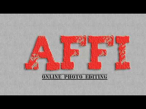 How to make text effect online photo editing