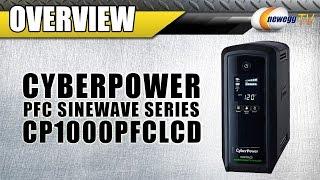 CyberPower PFC Sinewave Series UPS Overview - Newegg TV