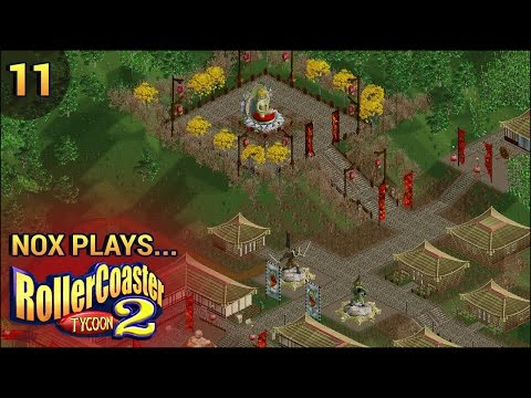 Nox Plays... Rollercoaster Tycoon 2 (Wacky Worlds) | #11: Asia - Great Wall of China, Pt. 1
