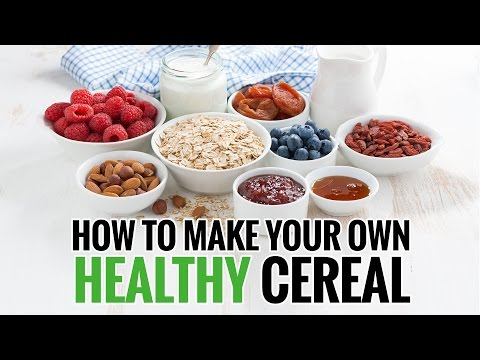 How To Make Your Own Cereal. Custom Cereal
