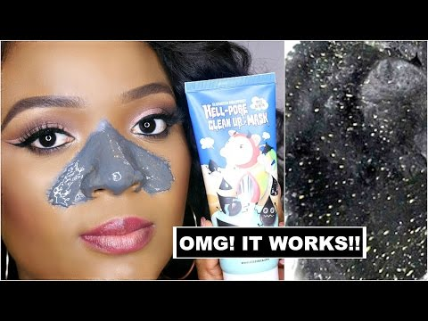 BLACKHEAD NOSE PEEL - HOW TO REMOVE BLACKHEADS FROM THE NOSE :  SUPER EASY & EFFECTIVE | OMABELLETV