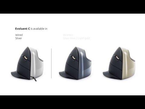 BakkerElkhuizen Evoluent C Vertical mouse