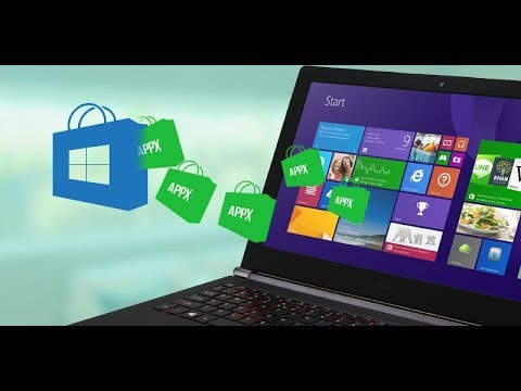 How to get & install offline Appx files in Windows 10