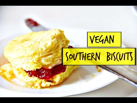 Southern Buttermilk Biscuits | Vegan
