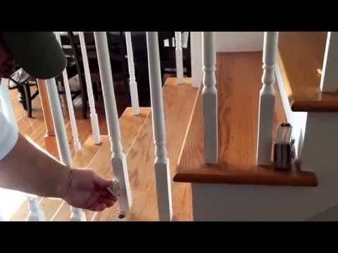 Changing Your Wood Balusters to Wrought Iron on Your Fancy Staircase