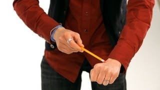 How to Do Pencil & Bill Vanish Trick | Magic Tricks