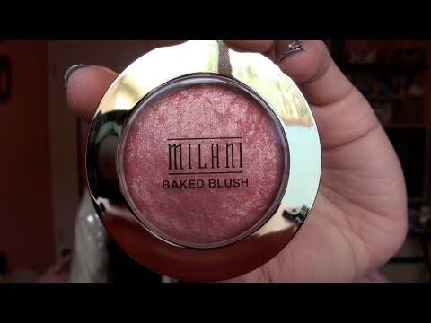 Review- NEW Milani Baked Blushes + MAC Stereo Rose Dupe!