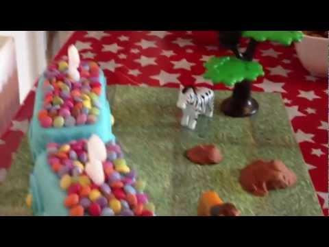 Thomas the Tank 3d cake