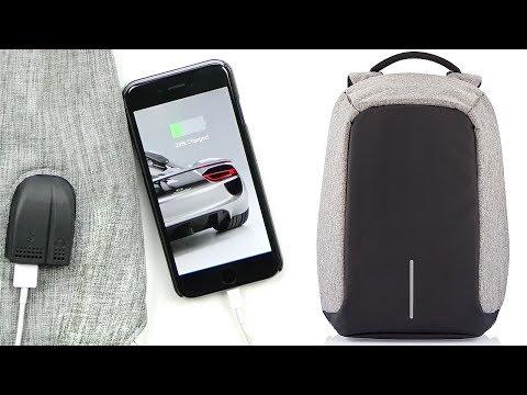 Anti-Theft Backpack w/ Headphone & USB Ports