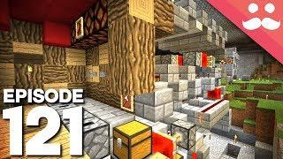 Hermitcraft 5: Episode 121 - BLAZE FARM and Redstone!
