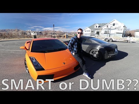 Why I Own $200,000+ in Cars but NOT A HOUSE...
