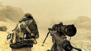 Call of Duty Modern Warfare 2 Sniper Mission Gameplay HD