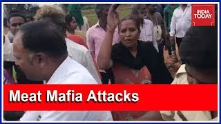 India Today Reporter Thrashed For Busting Illegal Slaughterhouse!   5ive Live