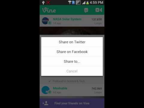 Video Downloader for Instagram & Vine Using Android App