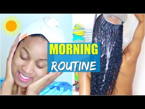 My Relaxing Winter Morning Routine (Moisturizing Hair&Skin)