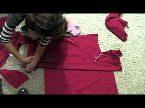 Tutorials: Rurouni Kenshin's Top and Skip Beat Uniform's bottom pattern cutting