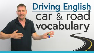Driving in English: Car \u0026 Road Vocabulary