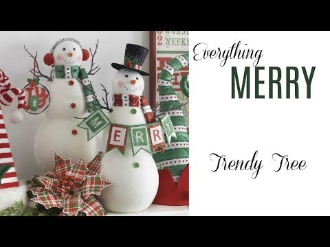2017 RAZ Everything Merry Collection at Trendy Tree