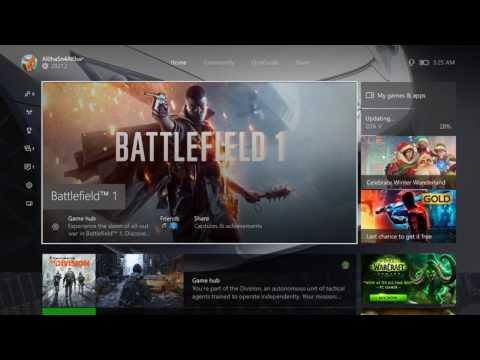 Xbox One Notification bug fix