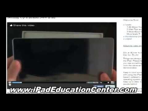 How to use your iPad - Turn on Bookmarks bar in Safari