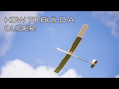 How to make a balsa wood glider