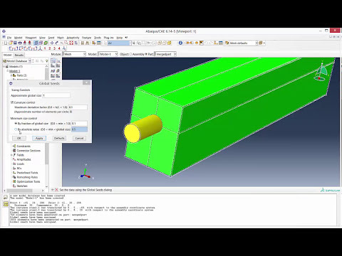 How to merge 2 parts in Abaqus using merge/cut instance