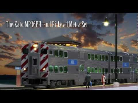 Chicago Metra Model Trains from Kato USA