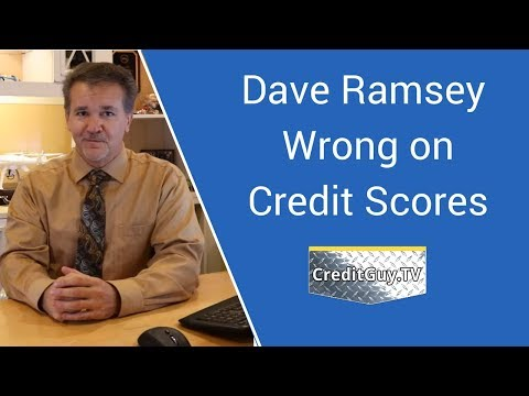 Dave Ramsey Wrong on Credit Reports and Credit Scores