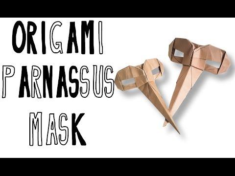 Origami Parnassus mask (Riccardo Foschi)