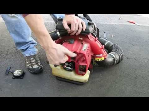 Repair a RedMax Blower Rewind Starter